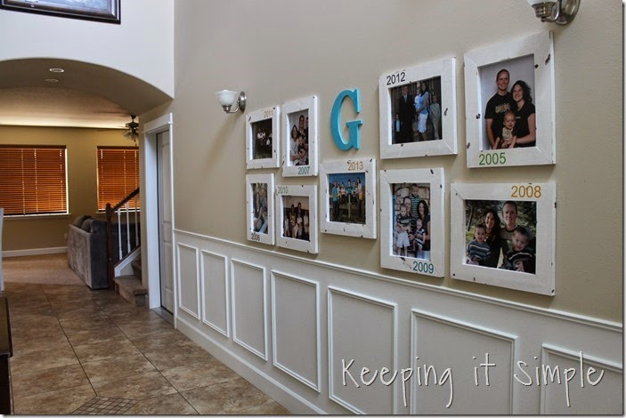 DIY Gallery Wall With Old Family Pictures (27)