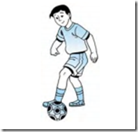 Teknik menghentikan bola dengan kaki luar