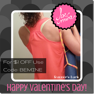 Valentine's Day mat strap coupon code