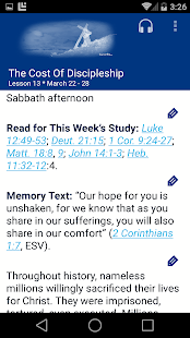 SDA Sabbath School Quarterly- screenshot thumbnail