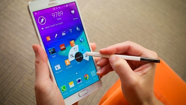 #3 Samsung Galaxy Note 4