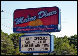 01a - Maine Diner - Sign