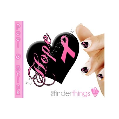 Nail art and nail decal stickers