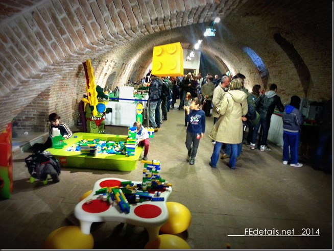 Mostra Lego 2014 nel Castello Estense, photo1