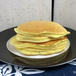 Super Fluffy Coconut Vanilla Protein Pancakes
