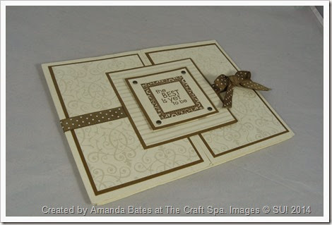 Bridesmaid Double Tri Shutter Mini Book, Quad Fold, Amanda Bates, The Craft Spa  (5)