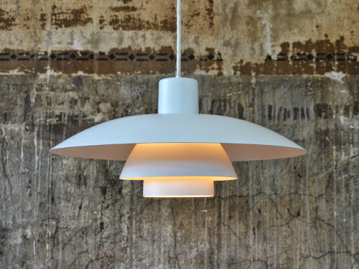 Louis Poulsen PH4-3 white pendant light.JPG
