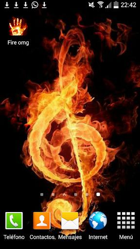 Fire Red Vivo Azul