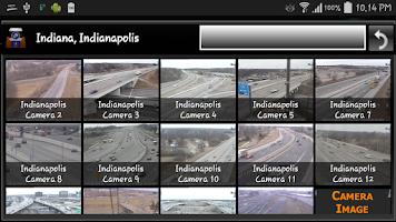 Screenshot of Cameras Indiana - traffic cams