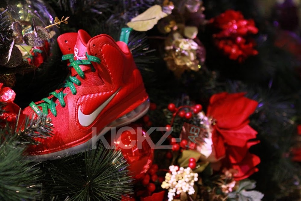 bb17df7b55f4 ... Nike LeBron 9 8220Christmas8221 Official Release Date 1225 ...