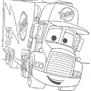 Colorear Dibujos De Camiones