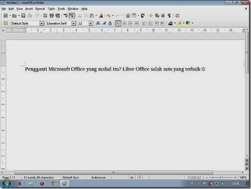 Install Libre Office 4.4.2.1-10