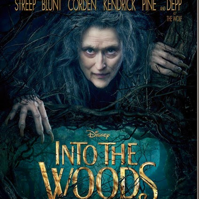 "Meryl Streep Bewitches in ""Into the Woods"" Teaser Poster"