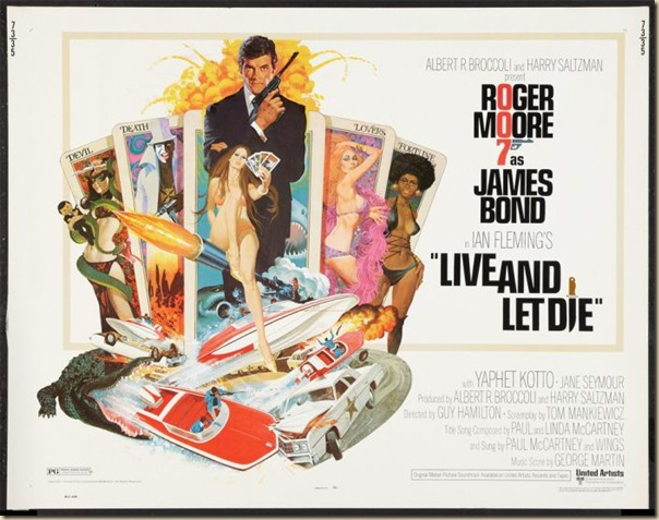 Affiche cinéma de James Bond (8)