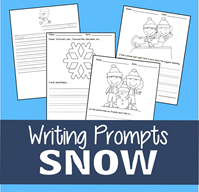Snow Writing Prompts