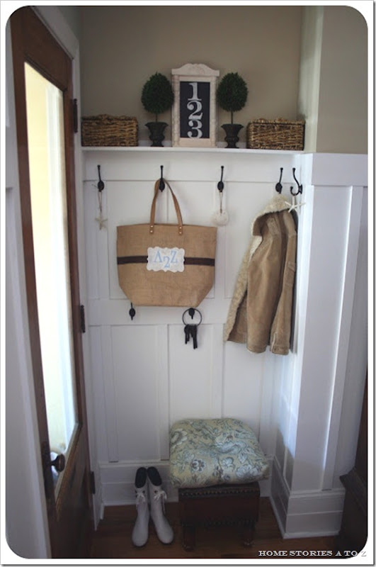 Beth's mudroom