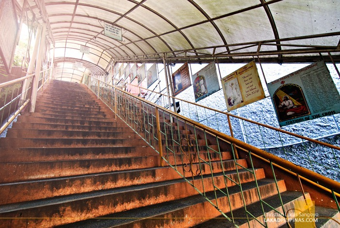 The 100-Step Stairs Leading to Baguio Cathedral