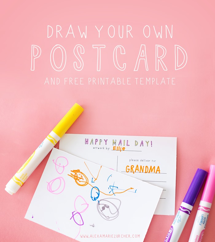 draw your own postcard