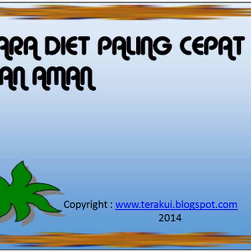 Tag Archives: cara paling cepat diet