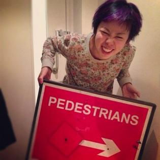 sign stolen