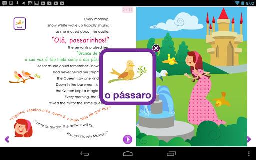 Princesses Learn Portuguese