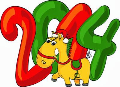 красивая открытка с новым годом 2014