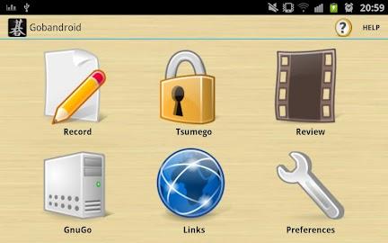 Gobandroid HD A.I. GnuGo Screenshot 3