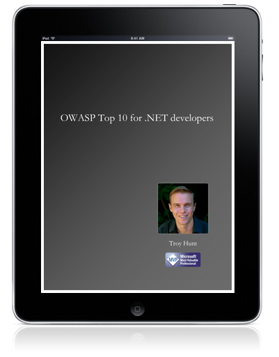 OWASP Top 10 for .NET developers eBook