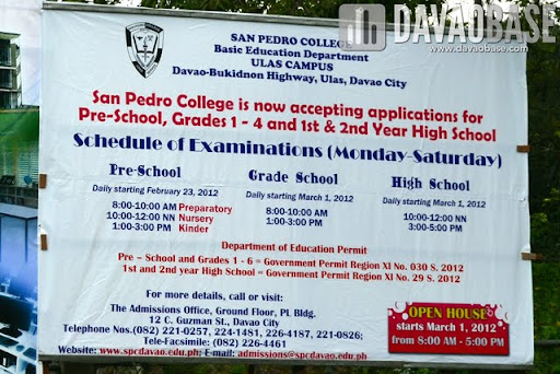 San Pedro College Ulas Campus To Open For School Year 2012