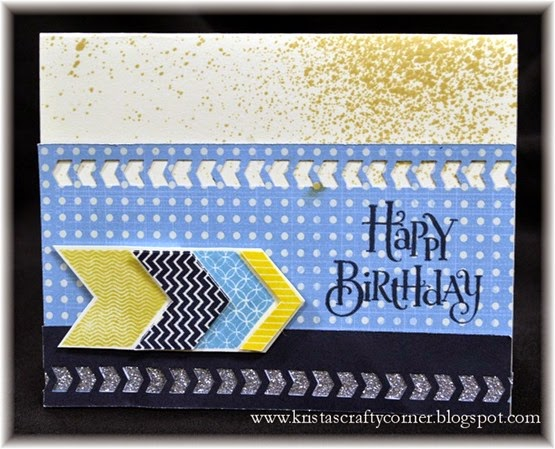 Happy Birthday Card_Wanderful_charming chevrons_aarons 15th bday