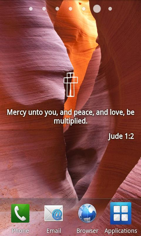 Bible Verses Live Wallpaper F - screenshot