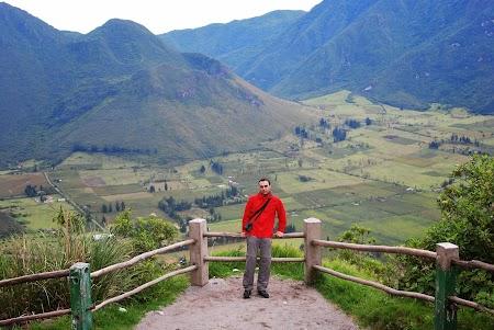 Cazare traditionala Ecuador: Vulcanul Pululahua