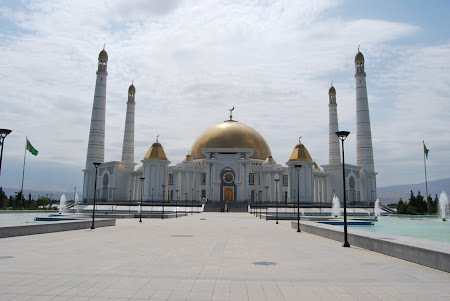 Obiective turistice Turkmenistan: Moscheia Kipchak Ashgabat