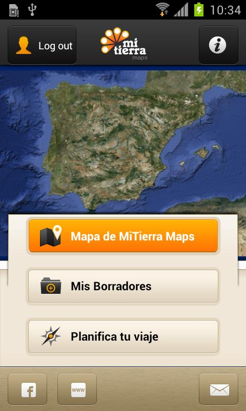 MiTierra Maps - screenshot