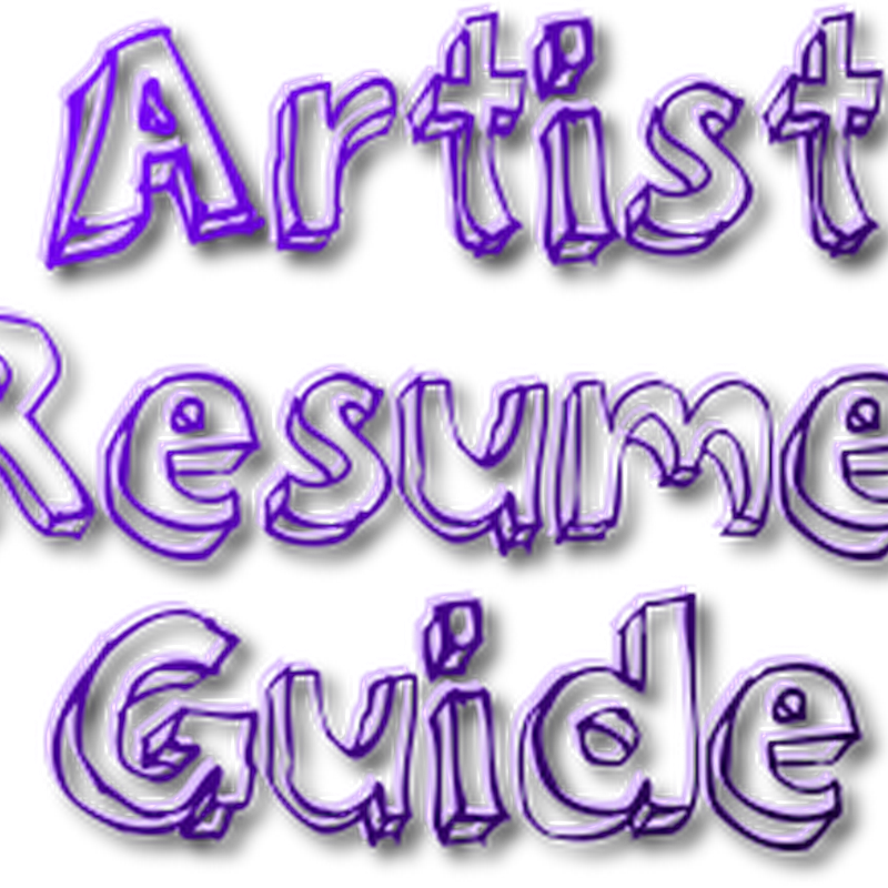 How to Create an Artist Resume