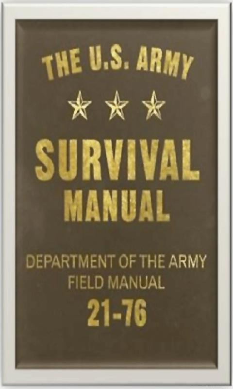 Army Survival Manual - screenshot