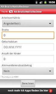 BruttoNettoRechner - screenshot thumbnail