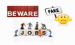 Beware fake jobs