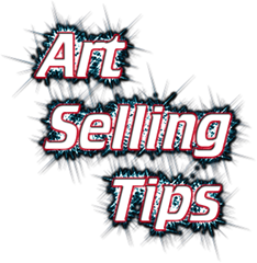 art selling tips