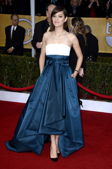 Marion Cotillard arrives at the 19th Annual Screen Actors Guild Awards