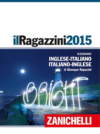 Ragazzini Italian Dictionary