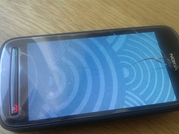 Perpetuum Smoking Mobile: Nokia 808 glass and touch