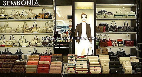 SEMBONIA leather handbags, tote bags, sling, hobo, satchel, boston, duffle bag, document, briefcase, travel, wallets, accessories card holder, key ring, shoes, Spring Summer 2013 Fall Winter 2014  sophisticated trendy collection
