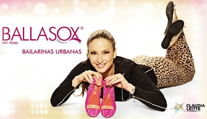 828727961c Sapatilhas da Claudia Leitte em parceria com a Ballasox – Coleção Inverno  2013.