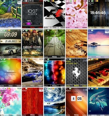Themes for Nokia S40