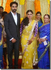 Tamil Actor Veera Bahu Wedding Reception Stills