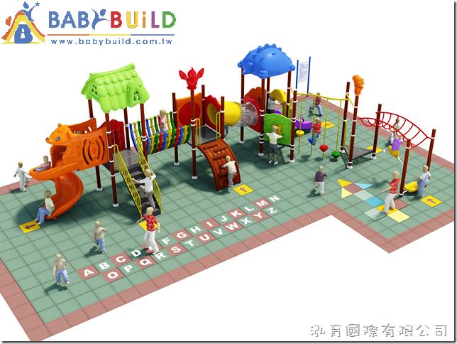 BabyBuild 戶外遊戲設施創意規劃