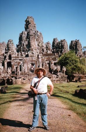 Imagini Angkor: templul budist Bayon