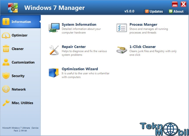 Windows 7 Manager v5.1.4 Full