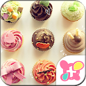Cute Theme-Sweet Cupcakes- icon
